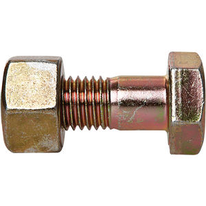 3L A325 Type 1 Plain Finish 1//2-13 Steel Structural Bolt with Nut 950 PK