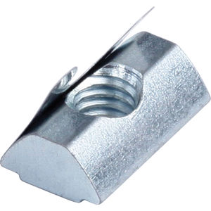 Inch Size 1//4-20 Thread Size 11//64 Base Height 1//2 Width 5//16 Table Slot Morton Stainless Steel T-Slot Nuts