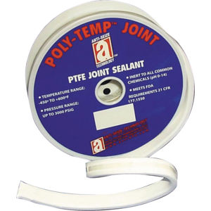 "QTY: 1 spool Assigned by Sur-Seal of NJ SSI1500FLTR.18775X1 3//16/"" wide x 75 feet long /""DIY/"" Gasket Material Joint Sealant PTFE"