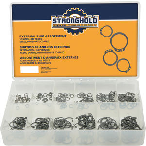 Pack of 25 Retaining Ring Min Qty 25, Snap ZY 2.559 Ext