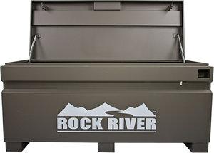 60 w x 28 1 4 h x 24 d gray rock river jobsite storage for Bulk river rock for sale near me