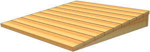 x4' Pressure Treated Ramp | Fastenal