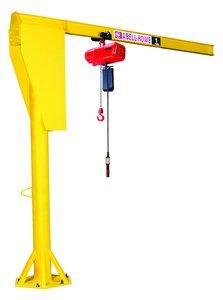 1 2 Ton 12 Span 10 Boom Base Floor Mounted Jib Crane