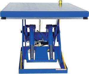 7 to 43 Height Range 60 x 30 Platform Capacity 4,000 lb Vestil EHLT-3060-4-43 Electric Hydraulic Scissor Lift Table