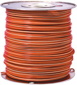 12 Gauge 500\' 80 Orange w/White Stripe Primary Automotive Wire ...