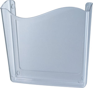 Clear Vertical Size Unbreakable Plastic Wall File Fastenal