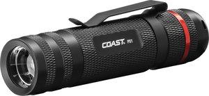 Coast  PX1  315 lumens Black  LED  Flashlight  AAA Battery