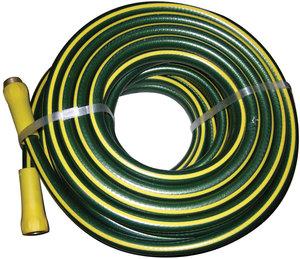 Gray/Yellow Rubber/Vinyl KinkGuard® Professional Duty Garden Hose