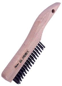 "Weiler 44063  Shoe Handle Scratch Brush New 10/"" Overall Length"